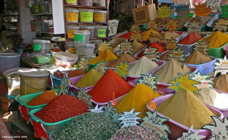 Viaje a Túnez. El mercado de las especias de Gabes