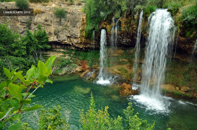 Teruel: la cascada del Molino de San Pedro