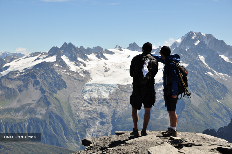 Viaje a Alpes. Le Mont Buet