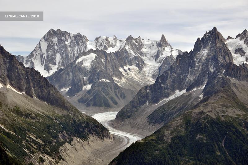 Viaje a Alpes. Más fotos del primer día de trek