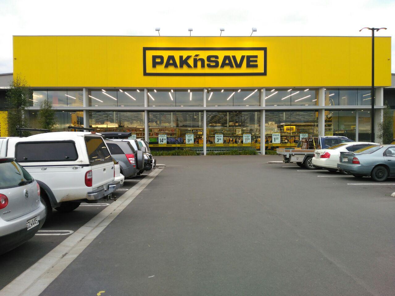 Haciendo la compra en Nueva Zelanda
