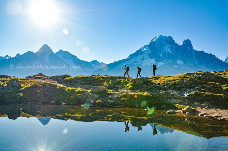 Trekking en Alpes Franceses