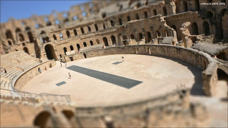 Viaje a Túnez. El anfiteatro romano de El Jem