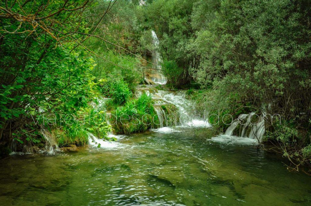 La Cascada del Molino de San Pedro, El Vallecillo, Teruel