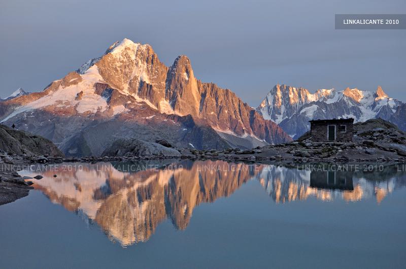 Lago Blanco Chamonix Alpes Franceses