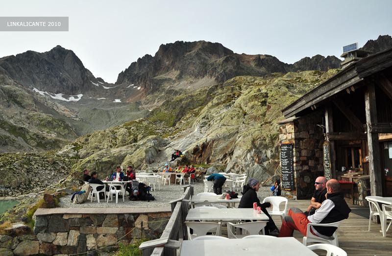 Refugio Lac Blanc, Aiguilles Rouges, Alpes Franceses