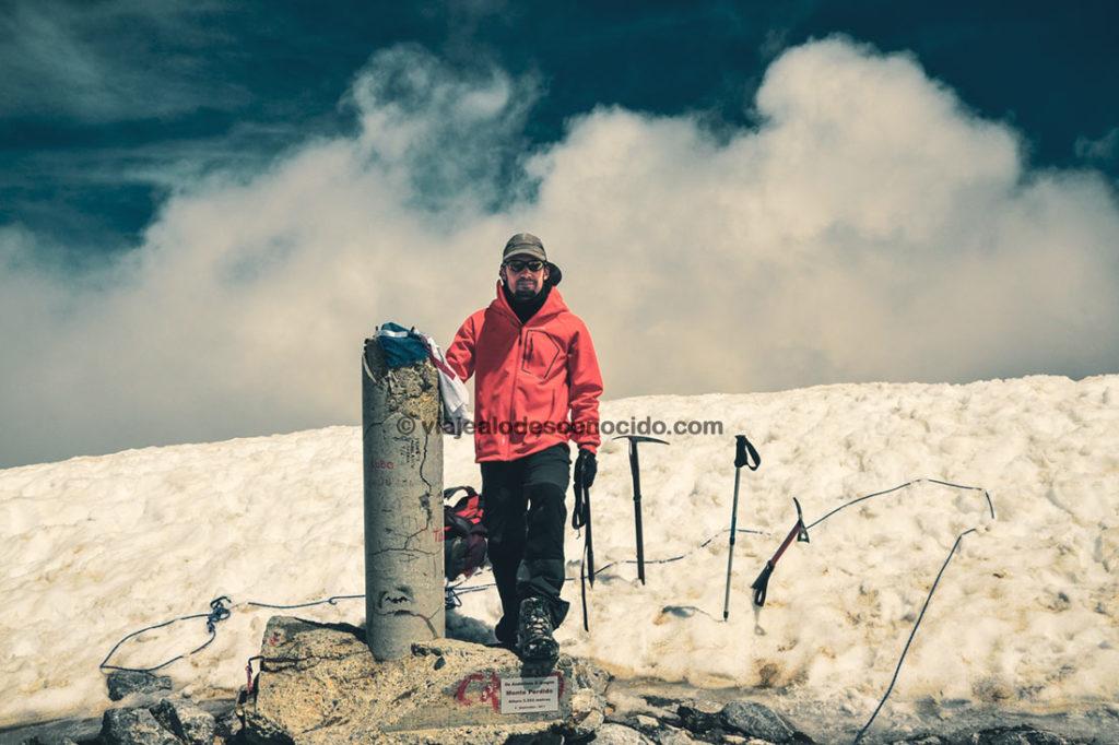 Cumbre Monte Perdido