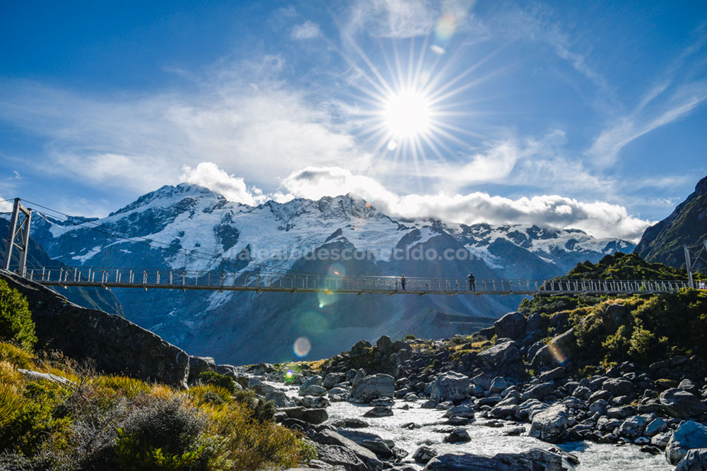 Hooker Valley Track - Nueva Zelanda